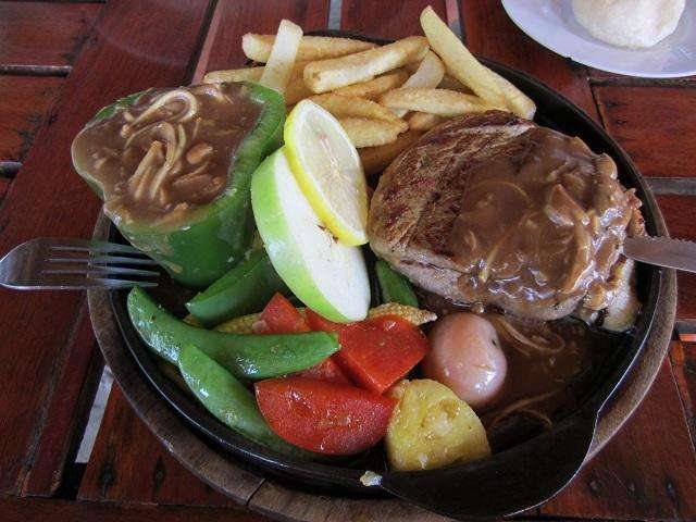 Европейское блюдо с тайским акцентом