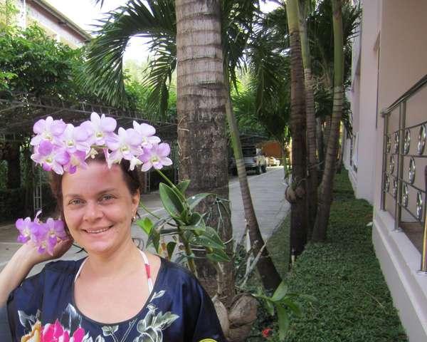 Я снова среди орхидей