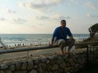 Средиземное море. Пляж города Бат-Ям.