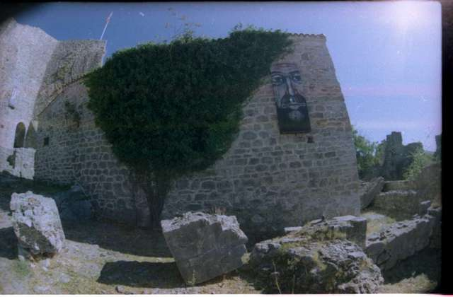 Современное искусство на древних стенах Бара