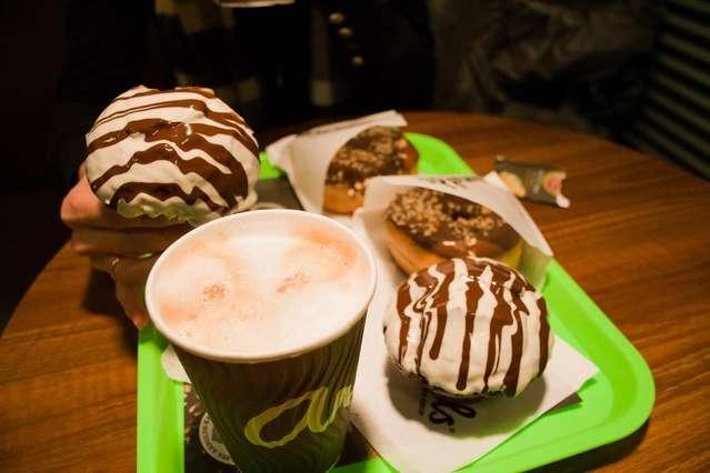 Маффины в любимом кафе