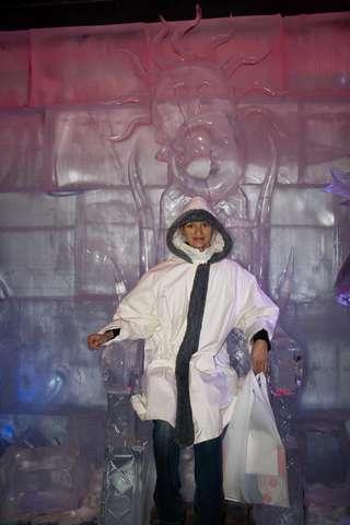 Санта Парк, Ледяной трон