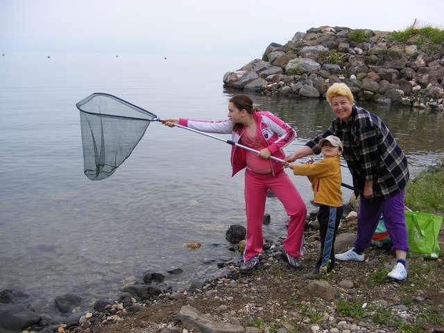 Рыбалка на озере Кинерет