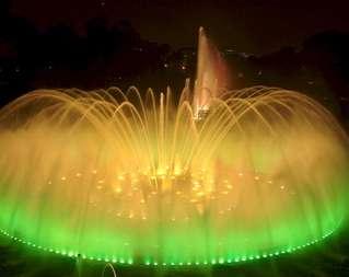 Волшебный фонтан в Барселоне!