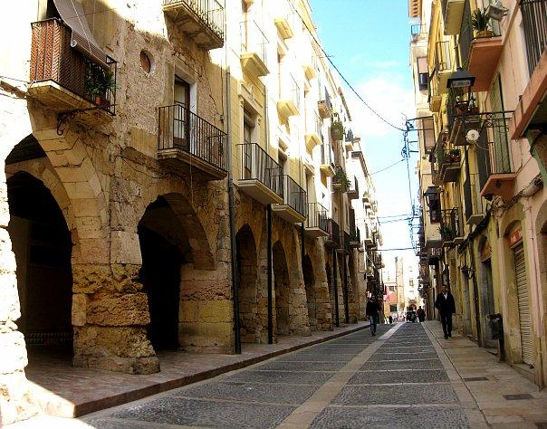 Испанская улочка