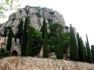 В монастыре Монсеррат