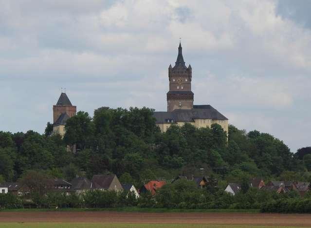 Вид на замок Шваненбург. Клеве.