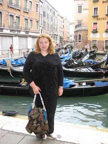 Венеция. Стоянка гондол