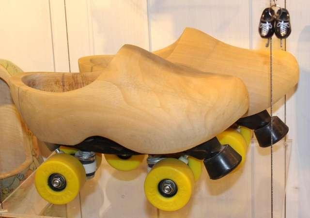 В музее деревянных башмаков. Заанс Сханс.