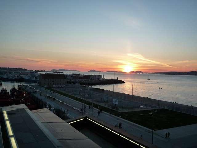 Закат над гаванью