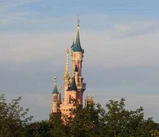 Замок Спящей Красавицы. Диснейленд, Париж.