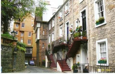 Уютные улочки Эдинбурга