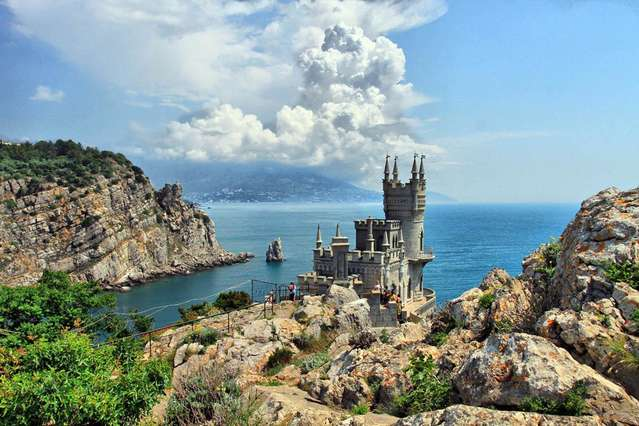 Ласточкино гнездо, Крым, Украина