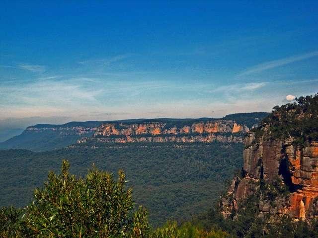 Вид на Голубые горы