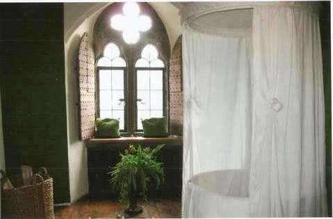 Ванная комната Королевы в замке Лидс