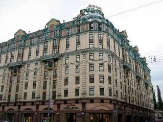 отель Moscow Marriott Grand Hotel 5*