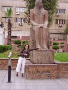 В Египетском Национальном музее Каира