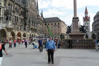 Мюнхен. На площади Мариенплатц