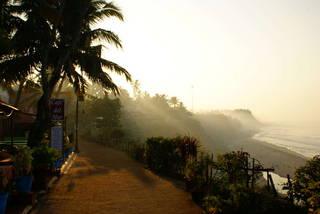 Набережная Индийского океана в Варкале