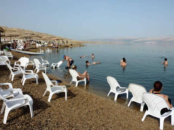 Мёртвое Море, пляж