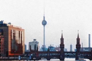Утренний Берлин летом