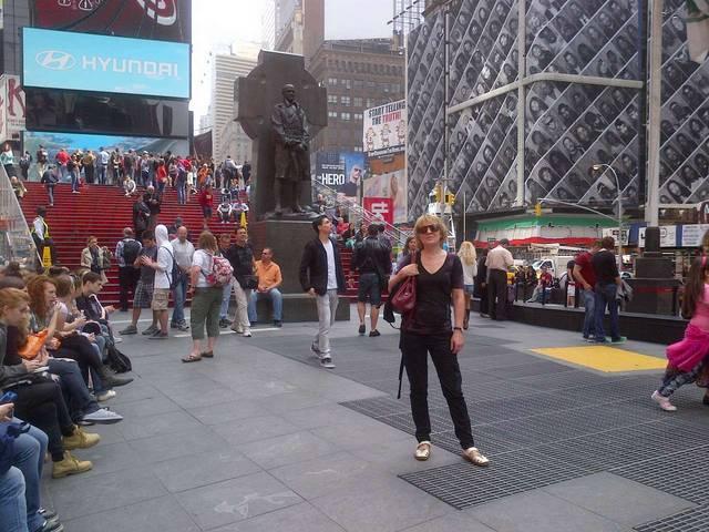 Таймс Сквер-сердце Нью Йорка