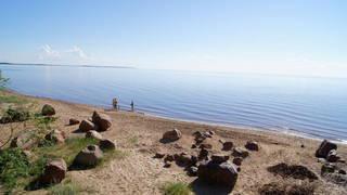 Чудское озеро! Как Средиземное море!