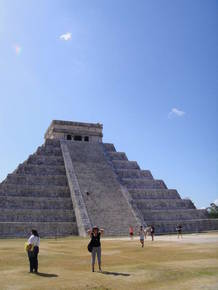 Пирамиды Чечен Итца.