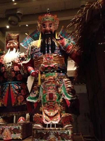 китайское божество из музея истории