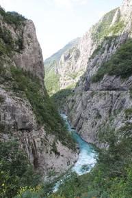 Каньон реки Морача