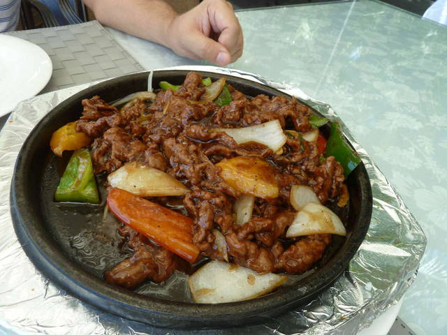 обед в ресторане Голубой Лотос