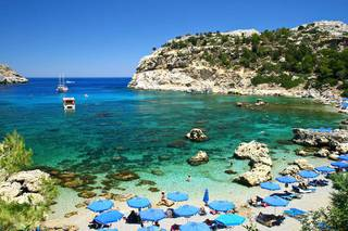 о. Родос, Средиземное море