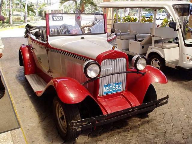 Необычные кубинские такси