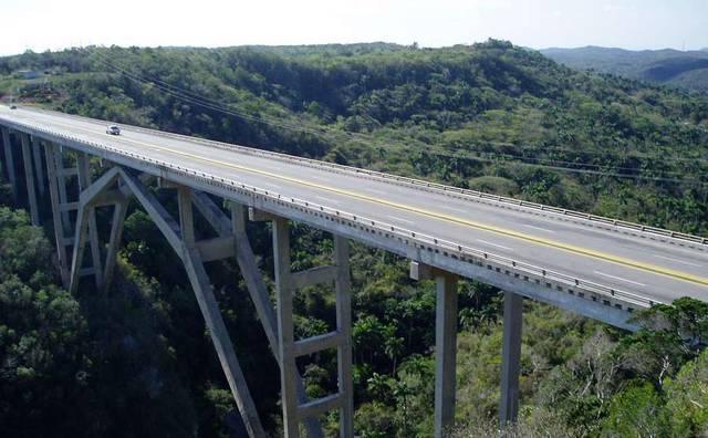 Мост по дороге в Гавану