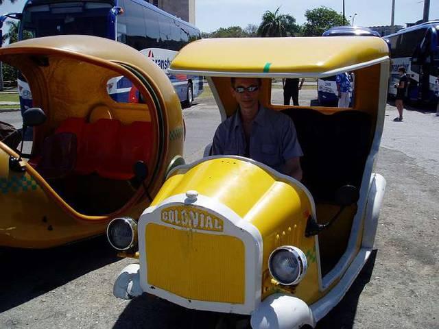 еще один вид такси в Гаване