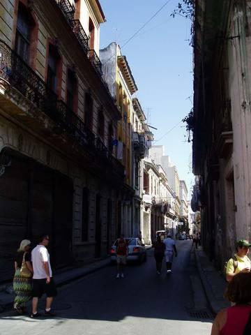 одна из улочек в районе старой Гаваны