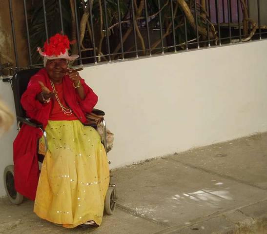 колоритная кубинская женщина