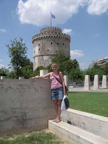 Салоники. Вид на Белую башню