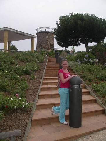 Парк Франсеск Масия. Вид на маяк