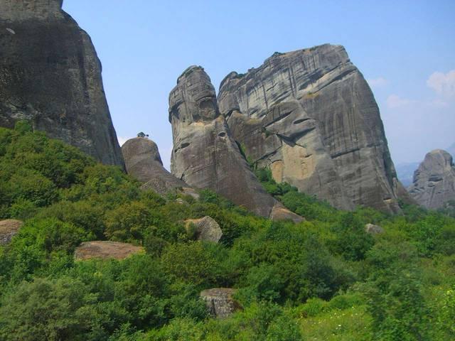 Горы Фессалии. Недалеко от города Каламбака