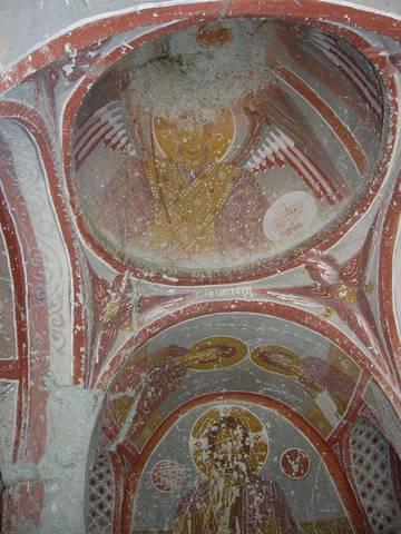 Фрески христианского храма в Гереме