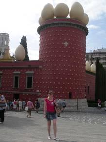 Фигерас. Музей-театр Дали. Башня Галатея