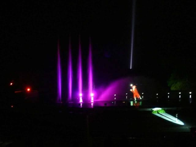 Концерт фонтанов