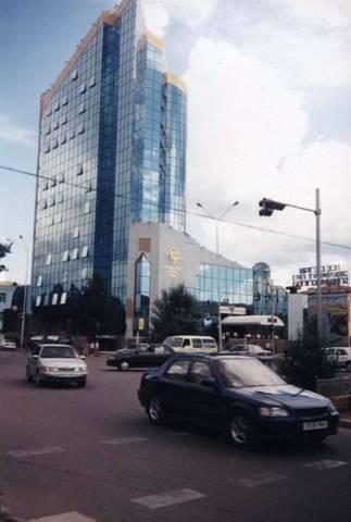 Современные постройки Улан-Батора