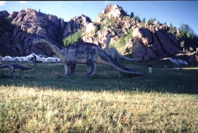 Долина динозавов