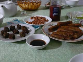 несколько блюд из кобры
