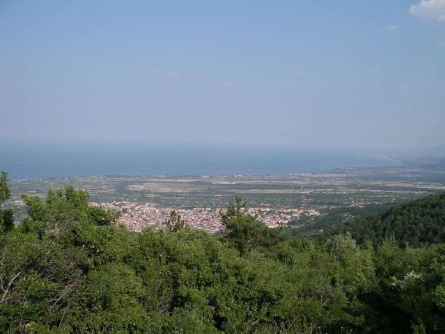 Вид на окрестности с высоты примерно 1000 м над уровнем моря
