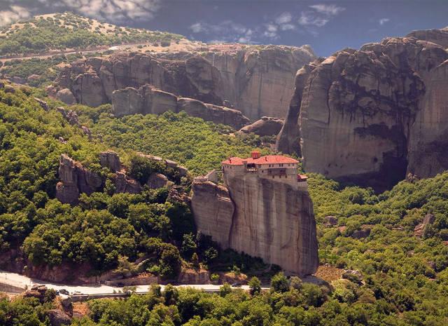 Греция, монастыри Метеоры