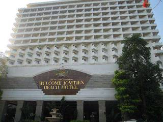 отель Welcome Jomtien Beach 3*
