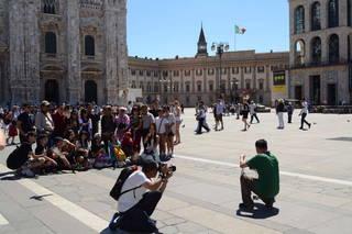 Толпы туристов